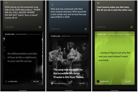 Spotify prépare les stories, pour suivre les artistes au quotidien 2