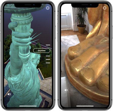 La statue de la Liberté vient à vous grâce à une appli iPhone en Réalité Augmentée 2