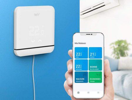 L'été arrive, et un nouveau thermostat de climatisation connecté HomeKit débarque aussi chez Tado 2