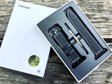 Test (sur 6 mois) du bracelet cuir Fullmosa pour Apple Watch: robuste, élégant et pas cher! 2