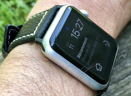 Test (sur 6 mois) du bracelet cuir Fullmosa pour Apple Watch: robuste, élégant et pas cher! 11