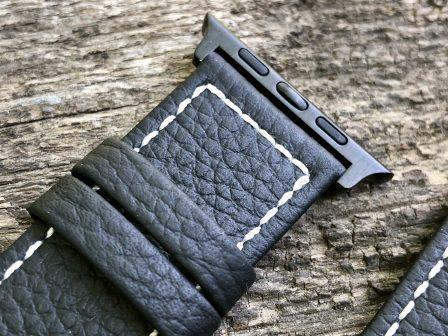 Test (sur 6 mois) du bracelet cuir Fullmosa pour Apple Watch: robuste, élégant et pas cher! 3