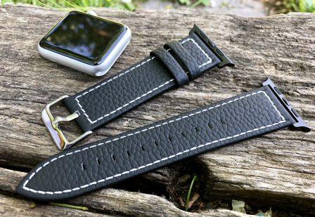 Test (sur 6 mois) du bracelet cuir Fullmosa pour Apple Watch: robuste, élégant et pas cher! 6