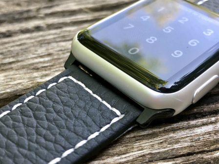 Test (sur 6 mois) du bracelet cuir Fullmosa pour Apple Watch: robuste, élégant et pas cher! 10