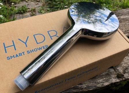 Test d'Hydrao Aloé : le pommeau de douche connecté français qui fait économiser eau et énergie! 4