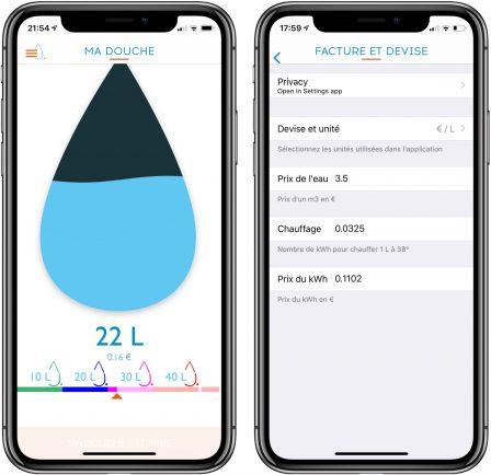 Test d'Hydrao Aloé : le pommeau de douche connecté français qui fait économiser eau et énergie! 10