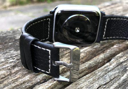 Test (sur 6 mois) du bracelet cuir Fullmosa pour Apple Watch: robuste, élégant et pas cher! 14
