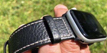 Test (sur 6 mois) du bracelet cuir Fullmosa pour Apple Watch: robuste, élégant et pas cher! 13