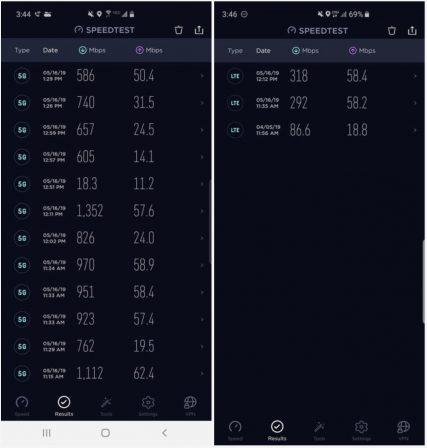C'est comment la 5G en vrai? Rapidité au rendez-vous ... quand ça capte! 2