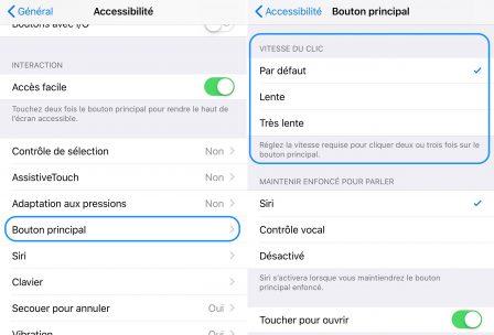 """En pratique: comment utiliser et personnaliser le triple appui sur le bouton """"power"""" de l'iPhone 4"""