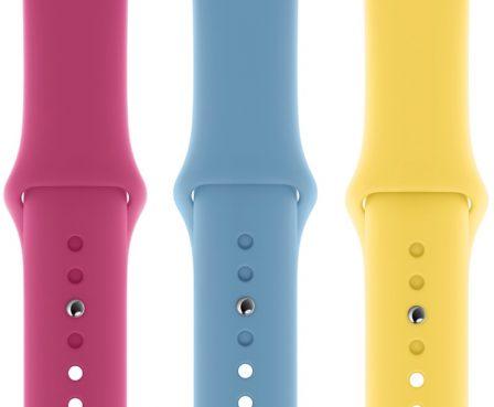Apple lance de nouveaux bracelets Apple Watch, coques iPhone et Smart Cover pour iPad mini 2