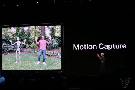 Quelles nouveautés pour la Réalitée Augmentée avec iOS 13: vidéo 3