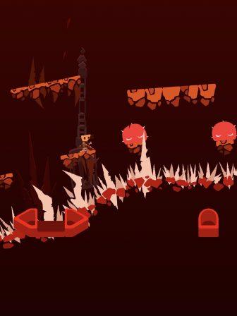 On s'est perdu dans les enfers du difficile Death Hall, nouveau jeu de plateforme iPhone, iPad 3