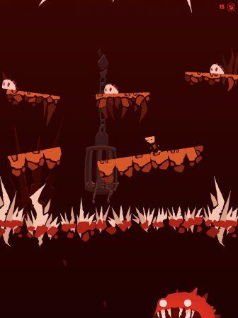 On s'est perdu dans les enfers du difficile Death Hall, nouveau jeu de plateforme iPhone, iPad 2