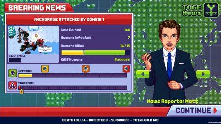 """Test de """"Infectonator 3: Apocalypse"""" : répandez un virus mortel dans ce nouveau jeu de gestion tout en pixels, sur iPhone & iPad 5"""