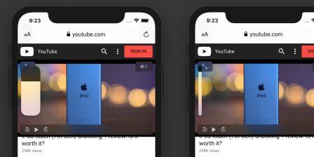 Petit pas pour iOS mais grand pour les utilisateurs: l'indicateur de volume moins intrusif avec iOS 13 2