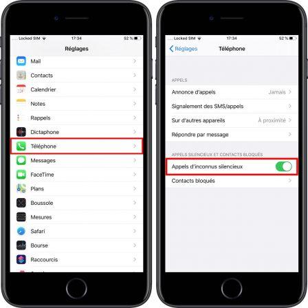 iOS 13: comment mettre en silence les appels de numéros inconnus et spam sur iPhone 1