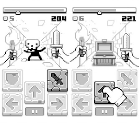 Spring RPG disponible sur iPhone & iPad: pixels et monochromie au programme 2