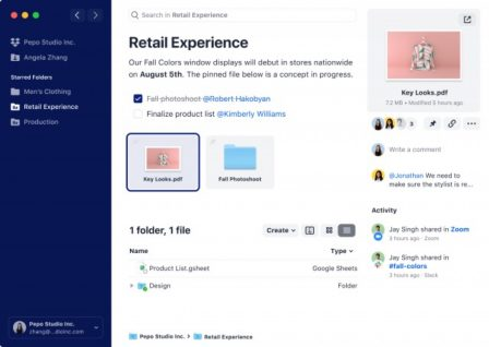 Dropbox prépare une refonte de ses apps: changement de design et nouveaux outils collaboratifs 2