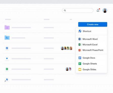 Dropbox prépare une refonte de ses apps: changement de design et nouveaux outils collaboratifs 3