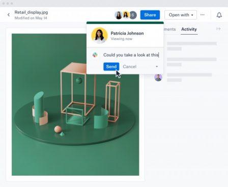 Dropbox prépare une refonte de ses apps: changement de design et nouveaux outils collaboratifs 5