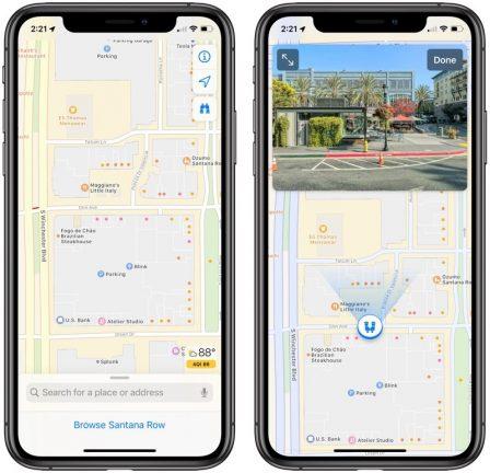 Quoi de neuf pour Apple Plans avec iOS 13? 2