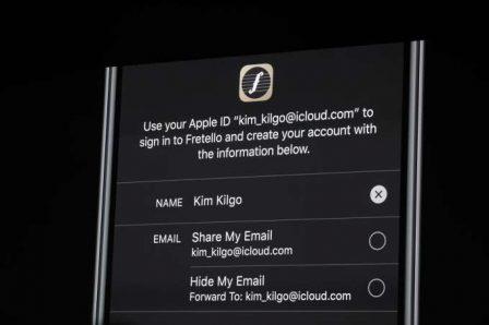 """Tout ce qu'il faut savoir sur le nouveau bouton """"Sign in with Apple"""" qui arrive avec iOS 13 3"""