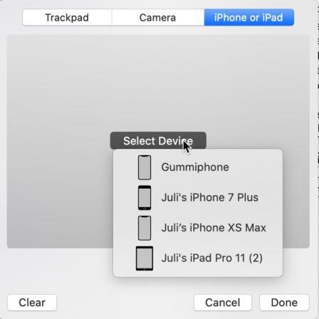 Des nouveautés dans macOS 10.15 Catalina qu'Apple n'a pas annoncé : signature avec iPhone, effets iMessage et plus 3