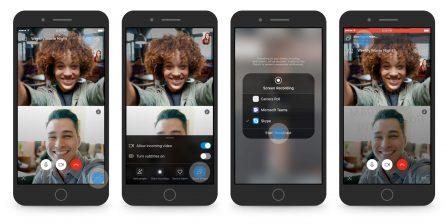 Le partage d'écran sur iPhone imminent sur Skype! 2