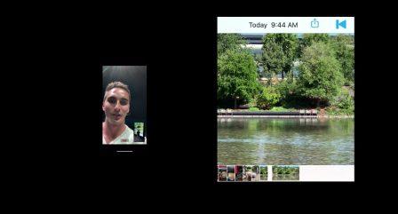 iOS 13 ouvre la possibilité de filmer simultanément avec les deux caméras (selfie et arrière) 4