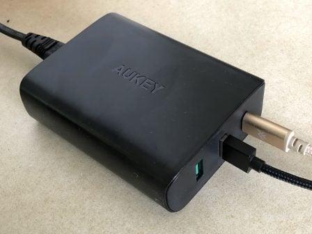 Test du chargeur USB-C PD + 2 prises USB-A Aukey: la puissance pour Mac, iPhone et iPad (avec code promo) ! 9