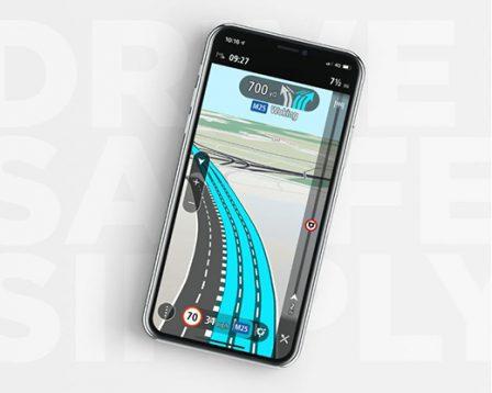 TomTom rafraichit son app iOS et CarPlay: nouvelles cartes hors ligne et améliorations des indications au programme 2