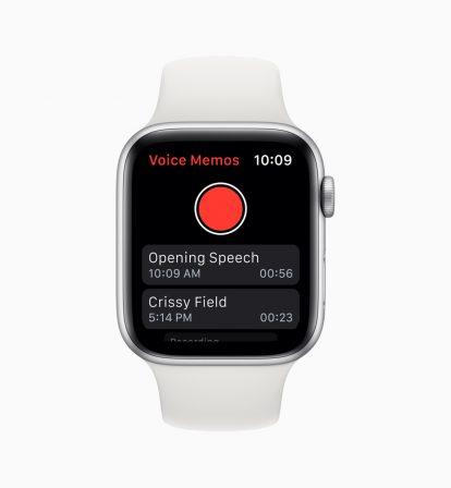 Quelles nouveautés pour l'Apple Watch avec watchOS 6? 7
