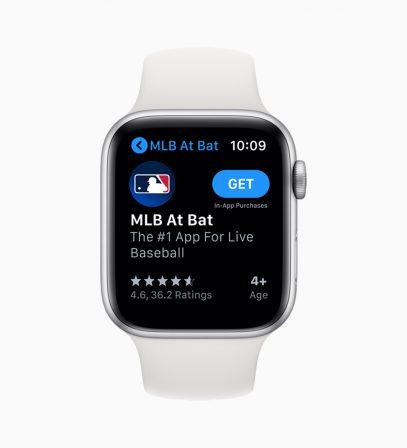 Quelles nouveautés pour l'Apple Watch avec watchOS 6? 5